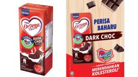 Nestle Omega Plus perkenal susu perisa coklat gelap