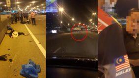 [VIDEO]Lagi kejadian maut pemandu mabuk... kereta rempuh 'rider' penghantar makanan