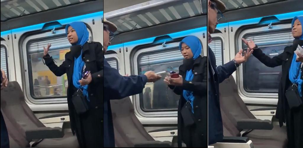 [VIDEO]Gadis Malaysia petah berbahasa Arab sedang 'berdebat', rupanya ini yang berlaku