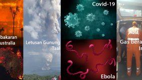 Senarai 5 bencana besar melanda dunia tahun ini