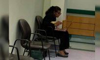 Gikgu buat kelas online dari koridor hospital curi perhatian warganet