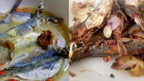 Ikan rebus bersama cuka ini nampak simple, bertambah makan nasi tanpa sedar