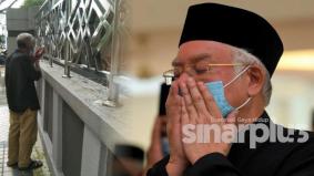 Najib berharap dapat bertemu pakcik tular yang berdoa di luar masjid ketika pengebumian bonda