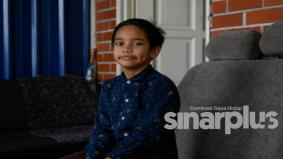 Kanak-kanak 9 tahun pecah tabung sumbang beli van jenazah