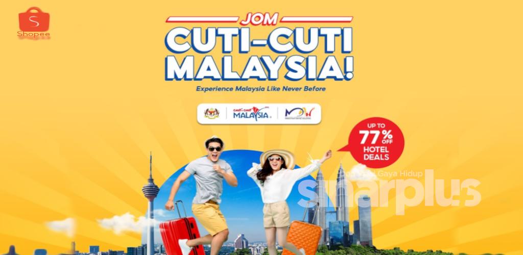 Bercuti sambil tebus e-baucar bernilai RM100! 'first come first serve'