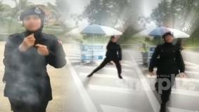 Akak polis buat TikTok pakai uniform, berdepan tindakan tatatertib