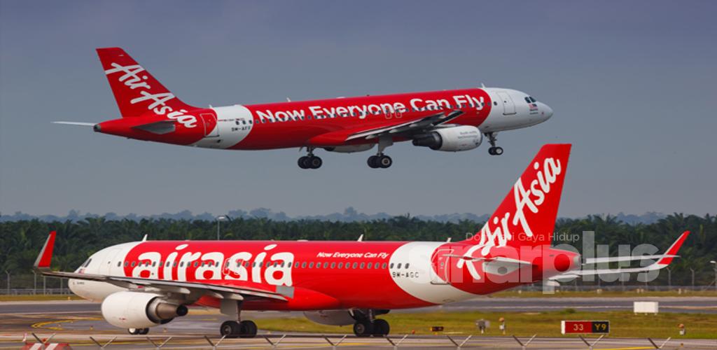 Tambang murah AirAsia serendah RM12 bermula hari ini!