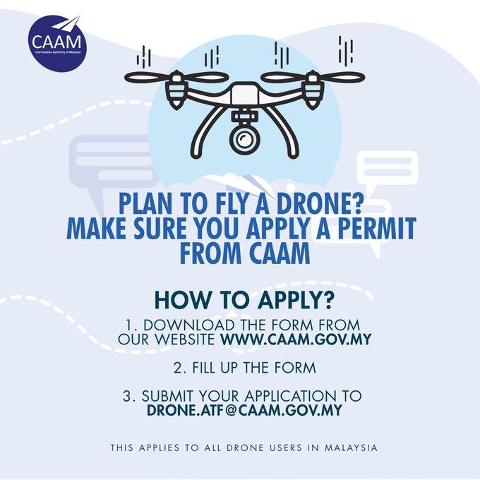Terbang dron perlu kelulusan elak didenda RM50,000! Cara mohon cukup mudah