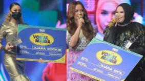 Aina Abdul, Aisha Retno juara Vokal Mania