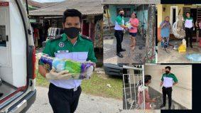 Keith Foo hulur bantuan untuk mangsa banjir