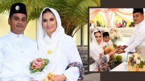 Berkahwin kali kedua, Balkisyh kembali bergelar isteri