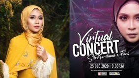 Siti Nordiana 'belanja' peminat, jayakan konsert solo virtual pertama 9 malam ini