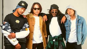 Akim, Hazama, Black dan Tomok saling memuji