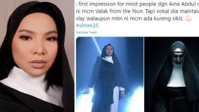 Baju disamakan watak hantu : 'Ada cerita di sebalik busana…' – Aina Abdul