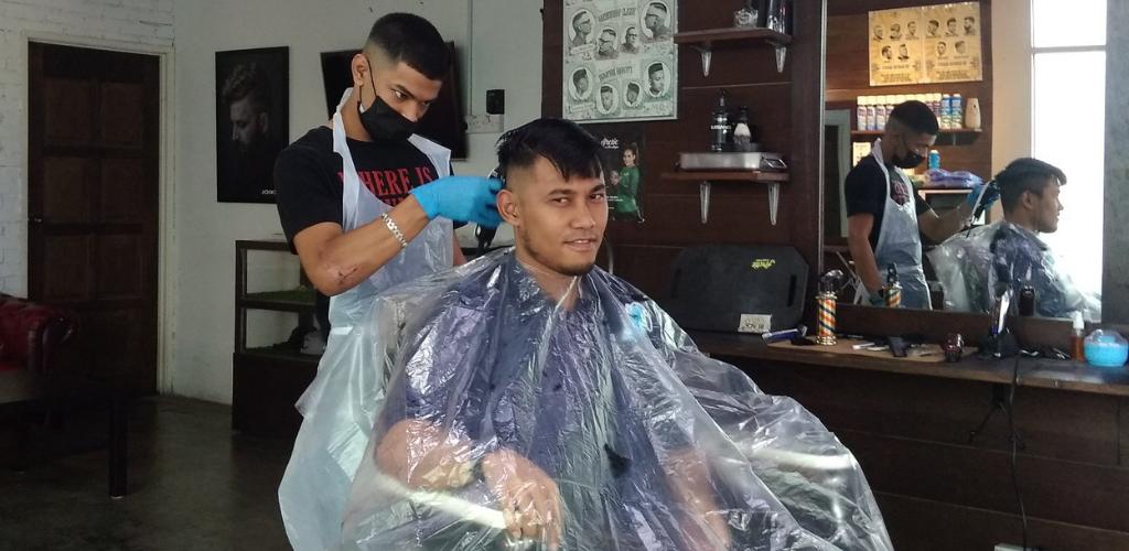 gunting rambut percuma