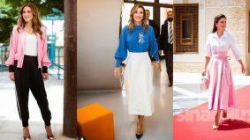 Fesyen Ratu Rania berusia 50 tahun jadi perhatian dunia