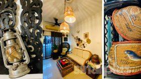 Dekorasi antik nuansa klasik dominasi rumah bujang