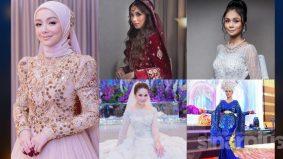 5 pengantin popular bualan netizen 2020, Mira Filzah juara carta