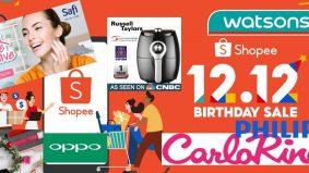 Masanya sudah tiba. Shopee 12.12 dengan ledakan barangan jenama berkualiti tinggi pada harga murah giler!