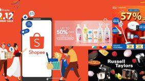 Shopee 12.12 promosi barangan elektrik berjenama dan produk kecantikan dengan harga penuh wow!