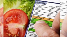 Masalah cetakan label rupanya, patutlah terlalu rendah kandungan karbohidrat