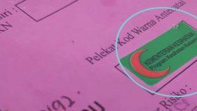Setiap warna ada maksud, ini yang ibu mengandung kena faham stiker pada buku pink