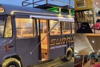 Kreatif! Ubah suai bas mini jadi surau bergerak mudahkan solat