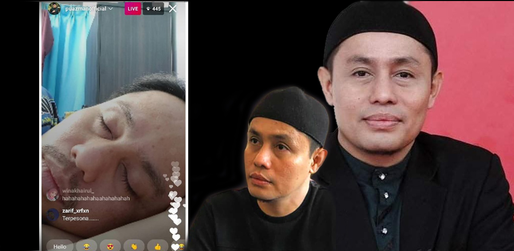 Padah buat live ketika baring, PU Azman mohon maaf