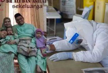 """""""Suami meninggal kerana Acute Respiratory Distress bukan kepenatan"""" - Isteri Dr Ali"""