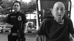 Capai hasrat bertemu rakan setugas, anggota polis hidap kanser rahang meninggal dunia
