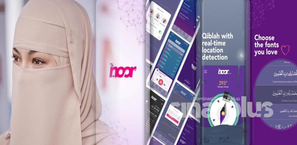 Aplikasi TheNoor milik Neelofa kini sedia untuk dimuat turun