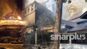 Hotel lima bintang Andaman dua kali terbakar, 80 peratus hangus dijilat api