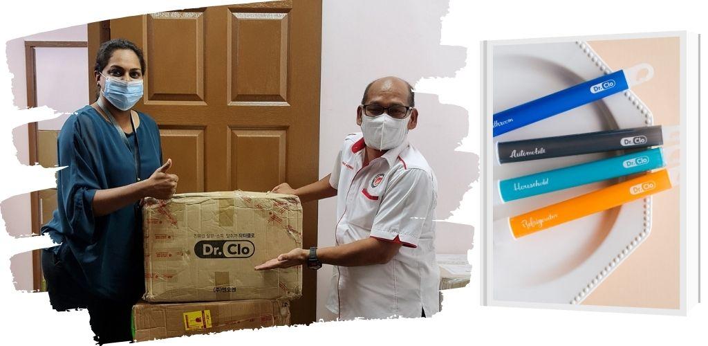 Kuman ada di mana-mana, Dr Clo bantu cegah 99 peratus virus, bakteria di setiap sudut rumah