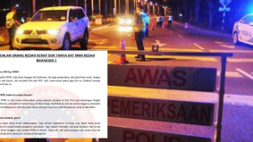 Terhibur para netizen, MKN Kedah jawab SOP PKPB guna loghat negeri