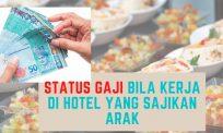 Status gaji bila kerja di hotel yang sajikan arak
