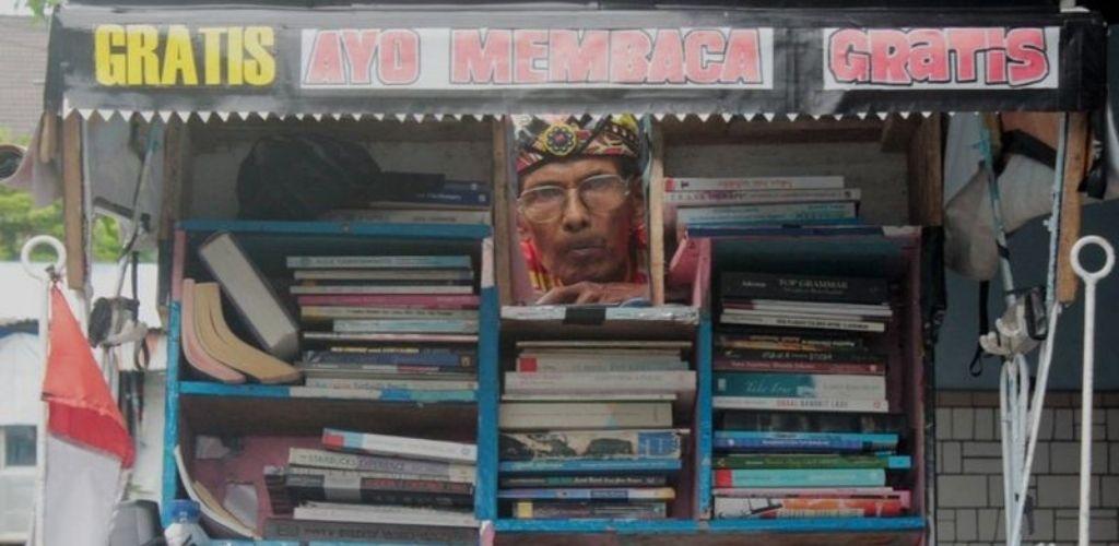 Perpustakaan beca