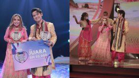 Khareez dan Nadheera muncul juara Lagu Cinta Kita 2