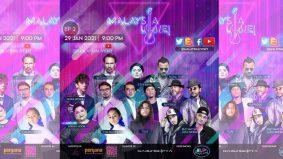 Malaysia Live! siri konsert atas talian hiburkan peminat dengan cara berbeza