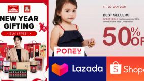 Potongan harga istimewa Lazada, Shopee meriahkan sambutan Tahun Baharu Cina. Macam-macam ada, jom rebut...