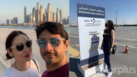 Sasha, suami alami pening dan keletihan selepas suntik vaksin dos kedua di UAE