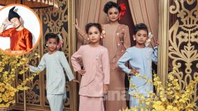 Pengusaha baju kurung ibu, anak terharu Raja Permaisuri Agong kongsi foto fesyen jenamanya di laman sosial