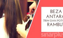(VIDEO) Keperluan trim rambut
