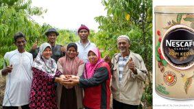 Kopi lokal pertama diperbuat daripada 100 peratus biji kopi tempatan. NESCAFE Classic Kedah memang umphh...
