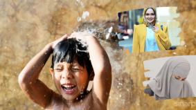 Patutlah Neelofa dan Siti Nurhaliza pernah amalkan mandi air sejuk. Ini rupa-rupanya manfaat di sebaliknya…