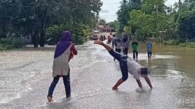 Bahaya mandi air banjir, ini antara padah yang bakal menunggu