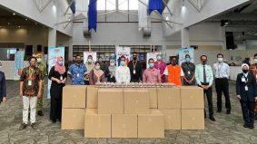Wak Doyok sumbang 20,000 pek sushi buat pesakit dan frontliner di MAEPS