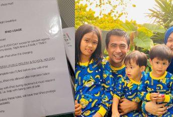 'Sign' surat perjanjian, ini cara Dr Halina bagi anak gajet demi belajar online