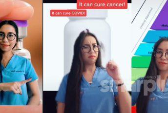 Dr Amalina terjebak buka akaun TikTok, kongsi ilmu perubatan