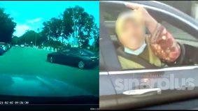 Wanita dipercayai doktor maki pengguna jalan raya mohon maaf