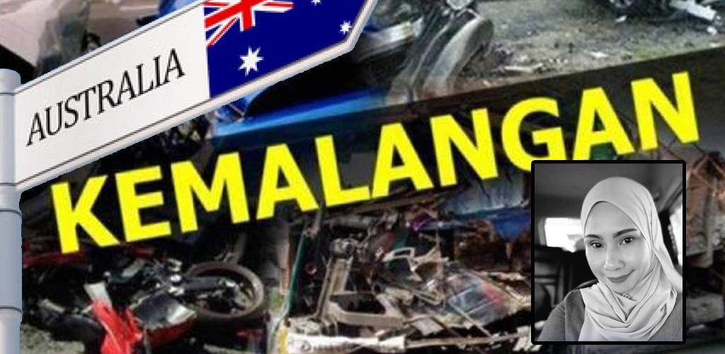 """""""Sedang kumpul dana RM50,000 untuk bawa jenazah ibu pulang"""" - Anak mangsa kemalangan di Australia"""